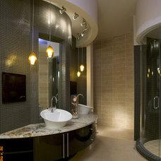Contemporary Bathroom by Wintercreative Interior Design : Maika Winter ASID