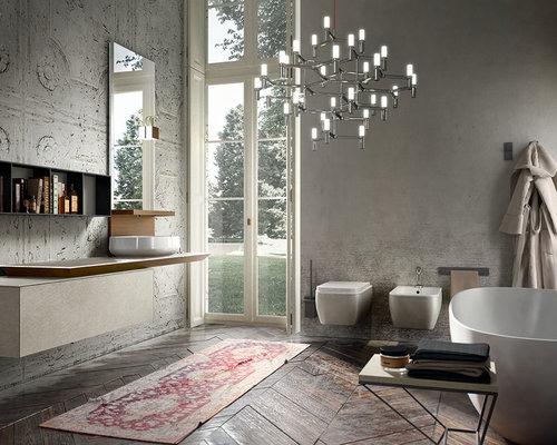 Houzz Italian Bathroom Vanity Design Ideas Remodel Pictures