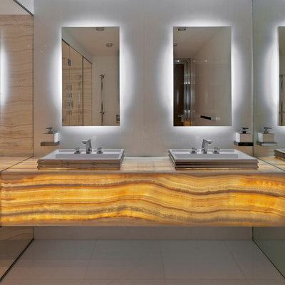 Contemporary Bathroom by AKCHURIN NY
