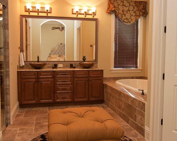 Traditional Bathroom by Regency Interior Design,LLC