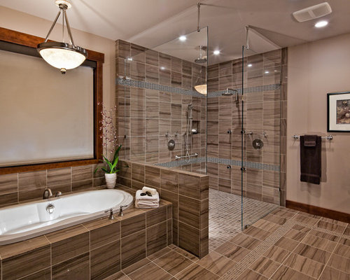 Open Shower Designs open shower bathroom ideas | carpetcleaningvirginia