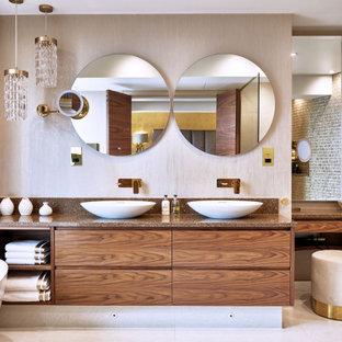 Luxury Walnut Bathroom