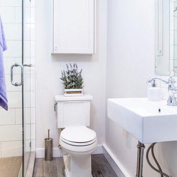Lynn Valley tiny but adorable ensuite
