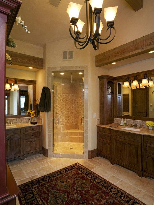 Eclectic denver bathroom design ideas remodels photos for Denver bathroom remodel