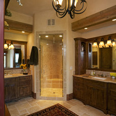 Eclectic Bathroom by Lynne Barton Bier - Home on the Range Interiors