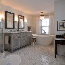 Craftsman Bathroom by Brownsmith Restoration