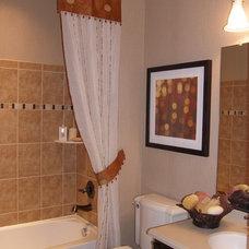 Eclectic Bathroom by Nancy Auman