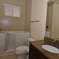 Mediterranean Bathroom by Javic Homes