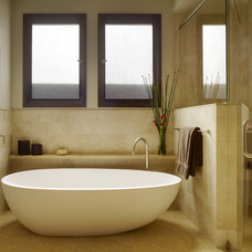Modern Bathroom by Gast Architects