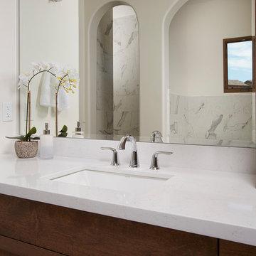 Lyskamm Della Terra Quartz collection Bathroom