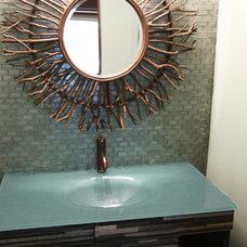Eclectic Bathroom by m.a.p. interiors inc. / Sylvia Beez