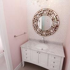 Contemporary Bathroom by m.a.p. interiors inc. / Sylvia Beez