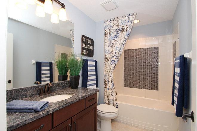 Contemporary Bathroom by M/I Homes