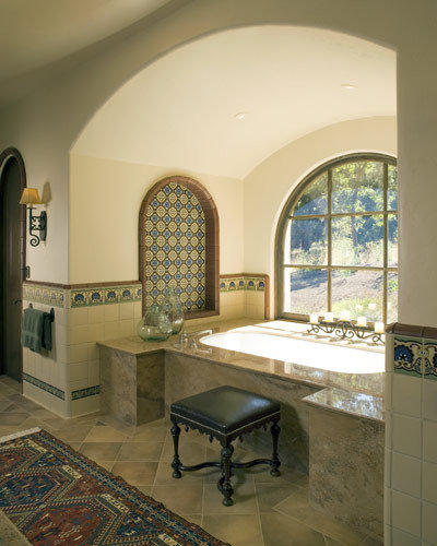 Spanish Bathroom Tile Design Ideas Amp Remodel Pictures Houzz