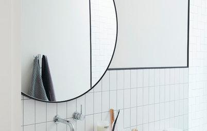 6 Designer Tricks for Brightening a Windowless Bathroom