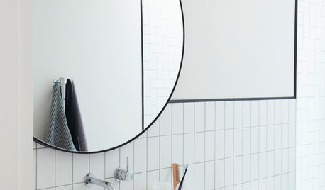5 Designer Tricks for Brightening a Windowless Bathroom