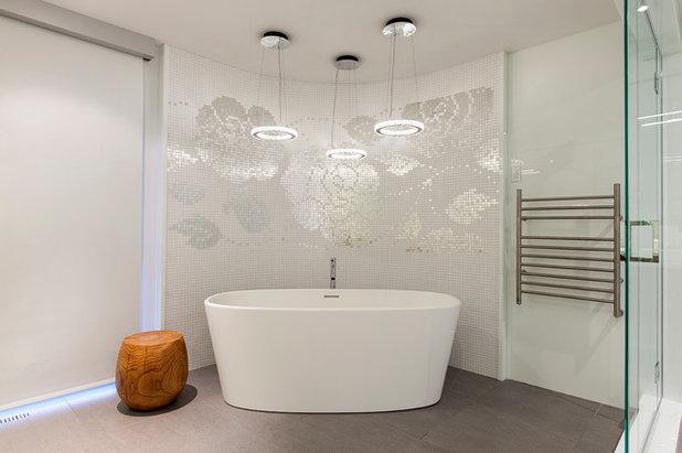 コンテンポラリー 浴室 by Begrand Fast Design Inc.