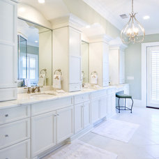 Traditional Bathroom by Max Crosby Construction