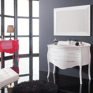 Elegant bathroom photo in Miami