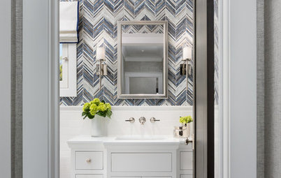 Room of the Day: A Fresh Take on Classic Style for a Powder Room