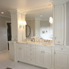 Traditional Bathroom by Jesse Bay Cabinet Co.