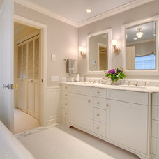 Traditional Bathroom by Michael Knowles, Architect