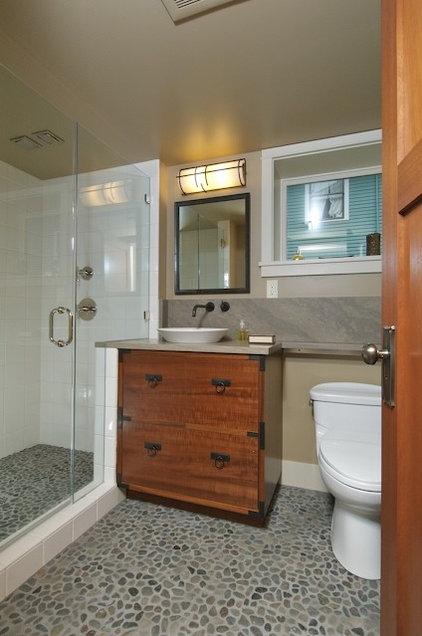 Asian Bathroom by Karen Ellentuck. ASID