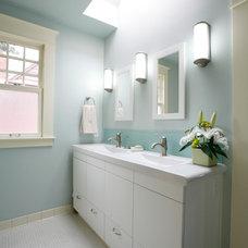 Contemporary Bathroom by Michele Kellett Interiors