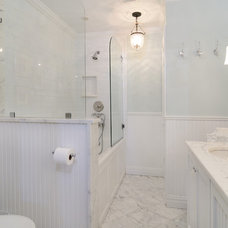 Traditional Bathroom by Hudson Place Realty