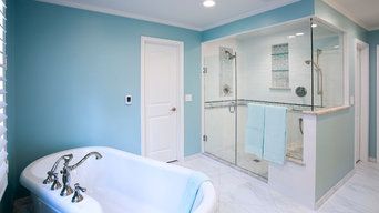 Magnificent Marble Master Bath