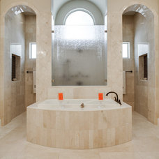 Mediterranean Bathroom by Bella Vita Custom Homes