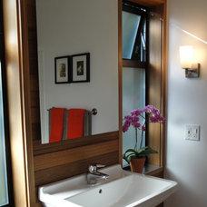 Modern Bathroom by Wettstone Studio