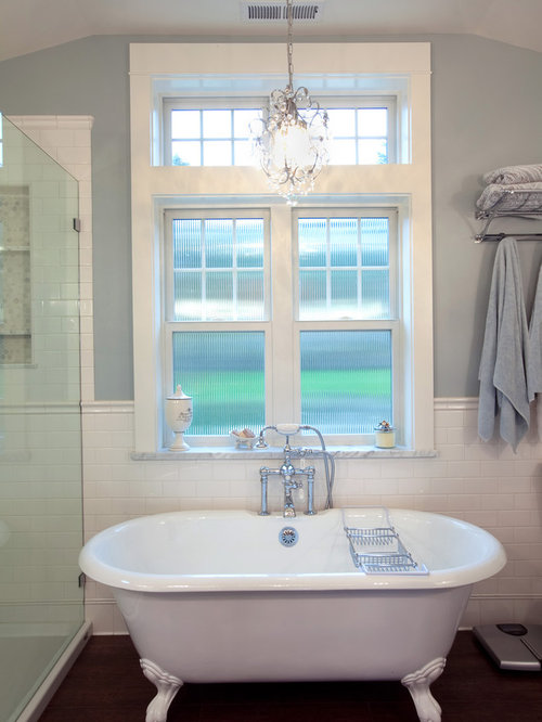 Inspiration For A Timeless Claw Foot Bathtub Remodel In Seattle