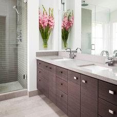 Contemporary Bathroom by Architrix Design Studio Inc.