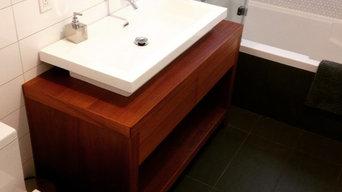 Mahogany Bathroom Vanity