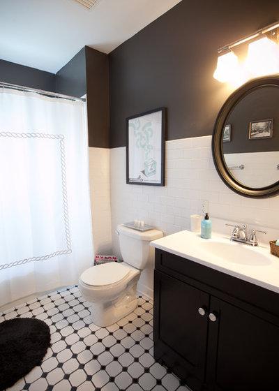 Traditional Bathroom by Birdhouse Design Studio