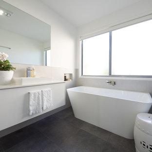 Attrayant 75 Beautiful Kidsu0027 Bathroom With Granite Countertops ...