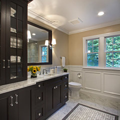 traditional bathroom by True Leaf Kitchens