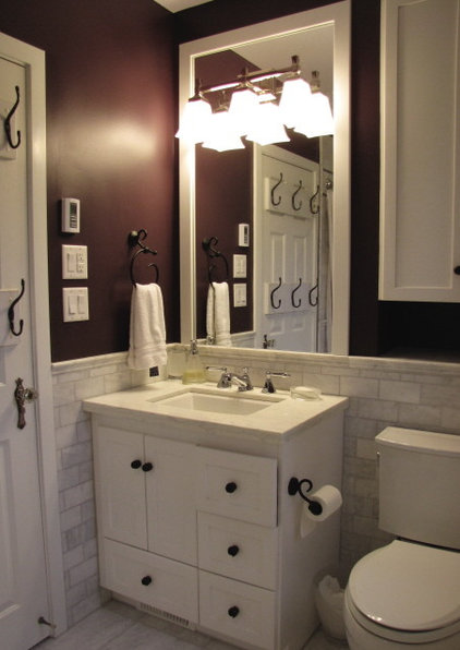 Carrera marble design ideas for bathroom renovations for Main bathroom ideas