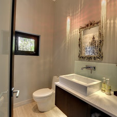 Modern Bathroom Main floor powder room