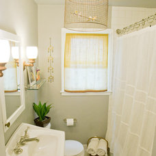 Eclectic Bathroom by Anna Berglin Design