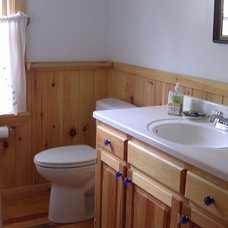 Traditional Bathroom Maine Cottage on the Point