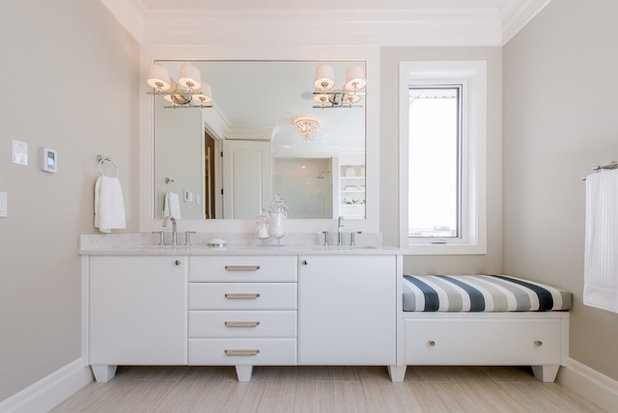 Traditional Bathroom by Maison Design+Build