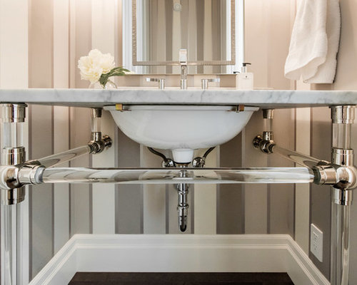 Small windowless bathroom home design ideas renovations for Windowless bathroom design ideas