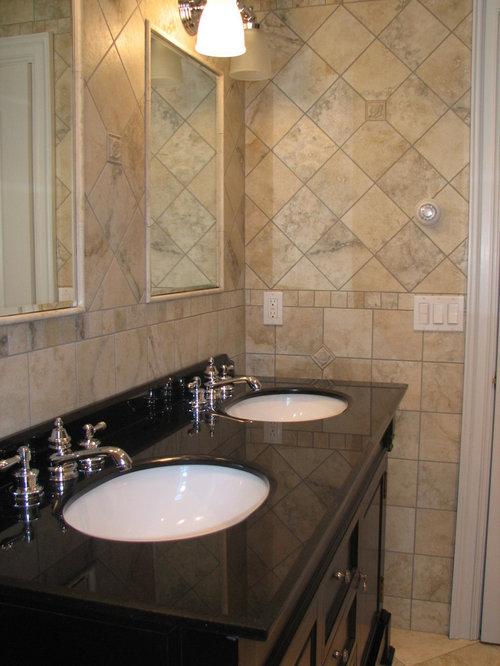 Fantastic Bathroom Design Ideas Renovations Amp Photos With Multicoloured Tiles