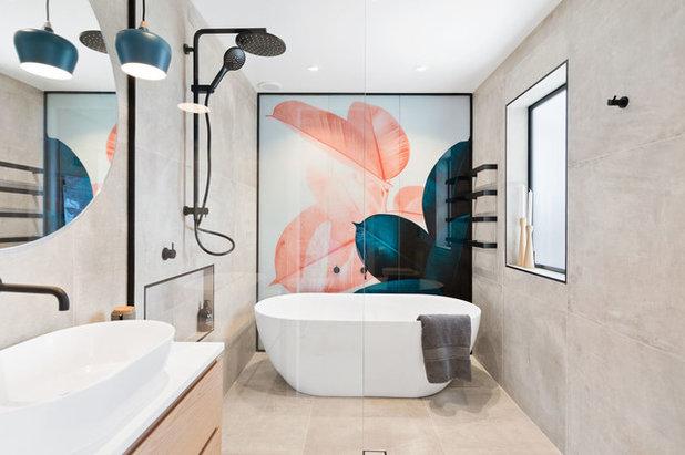 Contemporaneo Stanza da Bagno by Mico Bathrooms