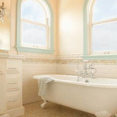 Mediterranean Bathroom by Biglin Architectural Group