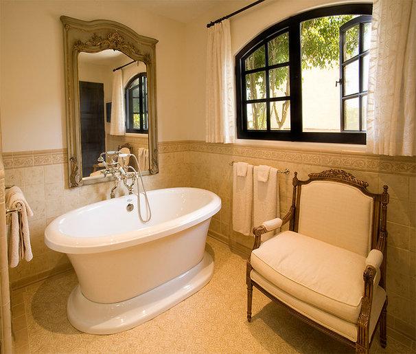 Mediterranean Bathroom by Platner & Co.