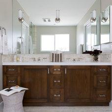 Contemporary Bathroom by Gilmore Design Studio