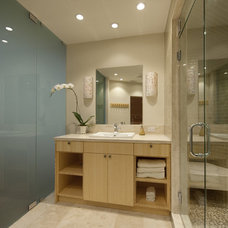 Contemporary Bathroom by Serrao Cabinets & Design